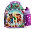 Zak! Fairies Insulated Lunch Bag w/ Drink Bottle - Purple 1