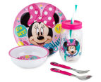 Zak! Minnie Mouse 5-Piece Meal Set - Pink 1