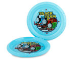 Zak! Thomas the Tank Engine 10-Piece Feeding Set - Blue 4