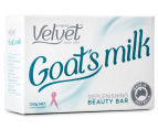 4 x Velvet Goat's Milk Replenishing Beauty Bar 100g 3