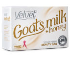4 x Velvet Goat's Milk & Honey Soothing Beauty Bar 100g 2