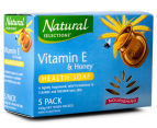2 x Natural Selections Nourishing Vitamin E & Honey Health Soap 5pk 2