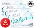 4 x Velvet Goat's Milk Replenishing Beauty Bar 100g 1