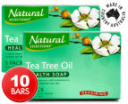 2 x Natural Selections Repairing Tea Tree Oil Health Soap 5pk  1