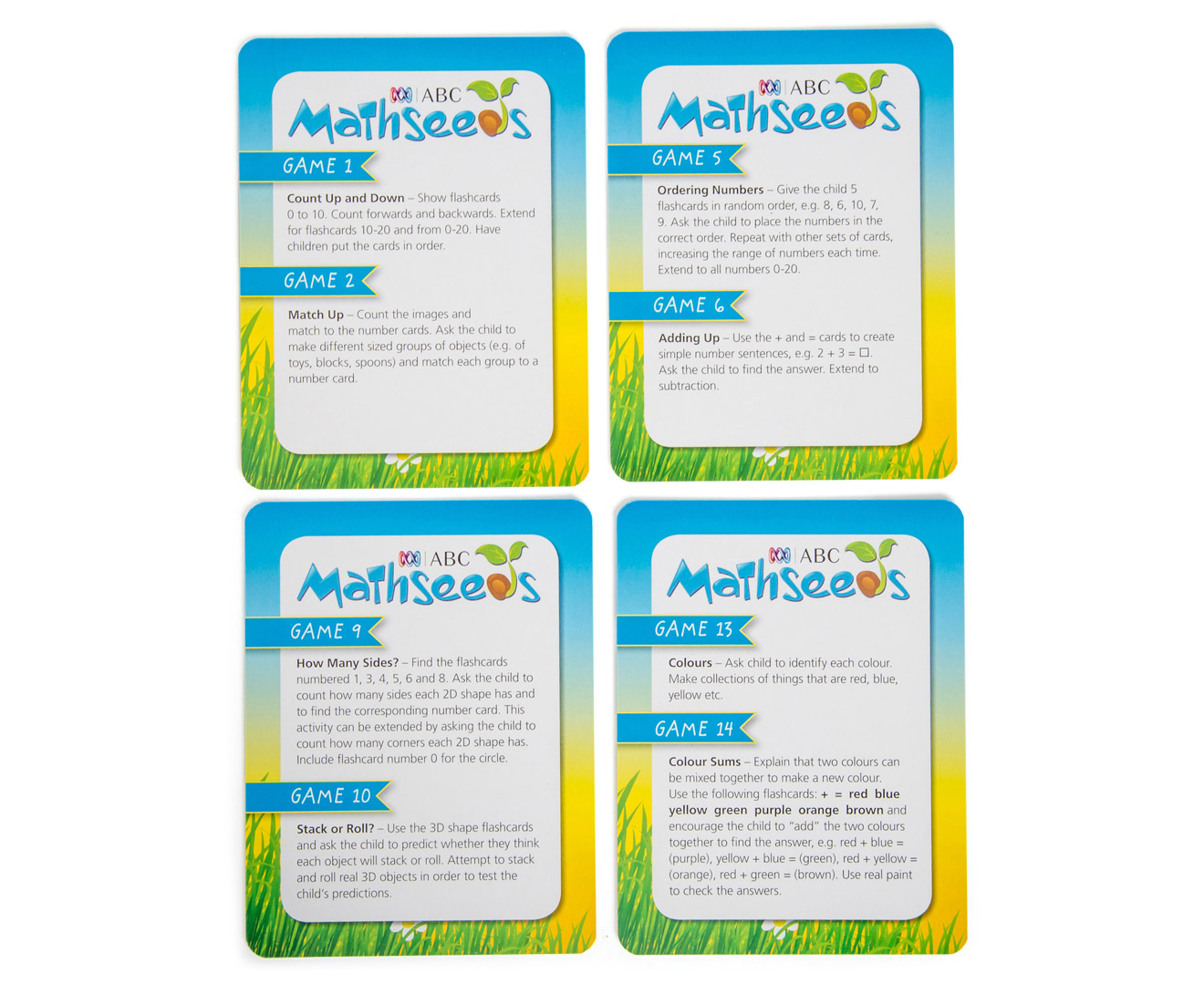 ABC Mathseeds Flashcards Ages 6-8 Years Pack | Catch.com.au