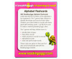 ABC Reading Eggs: Alphabet Flashcards Ages 4-6 Years Pack 5