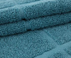 Casual Elegance Bath, Hand & Face Towel 6-Pack - Teal 2