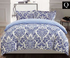 Gioia Casa Roma Queen Bed Quilt Cover Set - Mixed 1