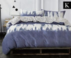 Gioia Casa Jungle King Bed Quilt Cover Set - Mixed 1
