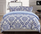 Gioia Casa Roma King Bed Quilt Cover Set - Mixed 1