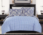 Gioia Casa Roma King Bed Quilt Cover Set - Mixed 2