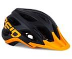 Reid Cycles Evolution Mountain Bike Helmet - Black/Orange 1