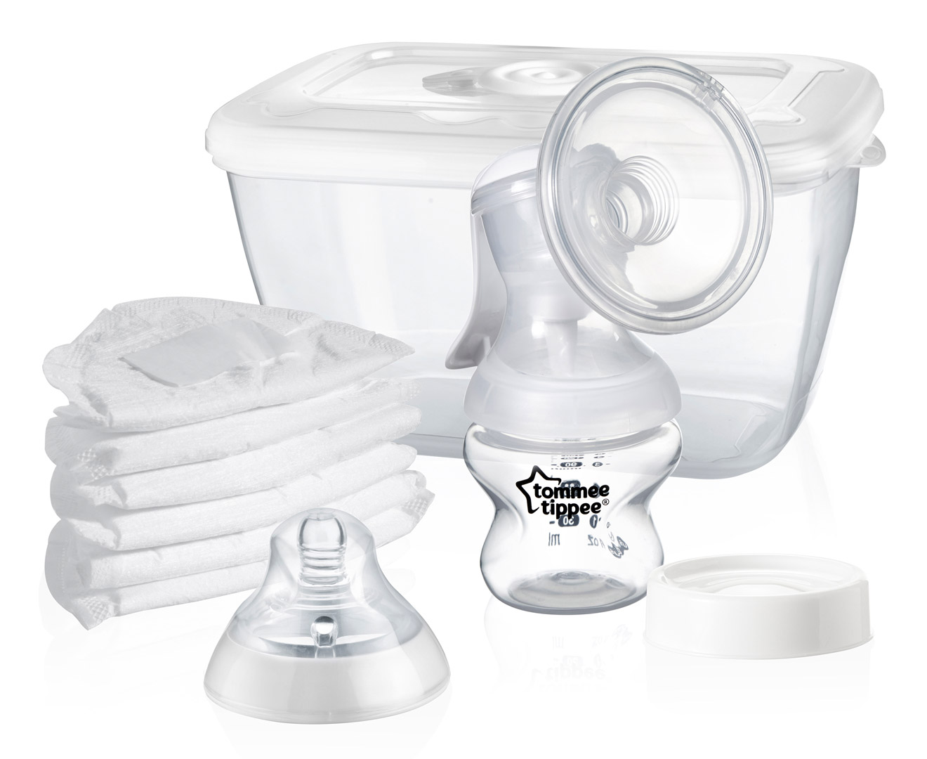 tommee tippee closer to nature manual breast pump kit great daily deals at australia 39 s. Black Bedroom Furniture Sets. Home Design Ideas