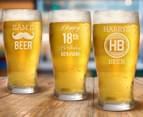 Personalised Standard Beer Glass 425mL 5