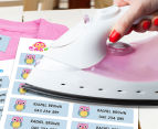 Personalised Iron-On Clothing Labels 44-Pack 2