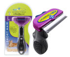 FURminator Deshedding Tool for Large Cats - Short Hair 1