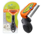 FURminator Deshedding Tool for Medium Dogs - Long Hair 1