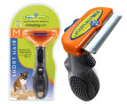 FURminator Deshedding Tool for Medium Dogs - Short Hair 1