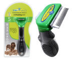 FURminator Deshedding Tool for Small Dogs - Long Hair 1