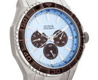 GUESS Men's 45mm Unplugged Watch - Silver/Blue 2