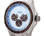 GUESS Men's 45mm Unplugged Watch - Silver/Blue 3