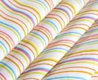 Happy Kids 135x130cm Teepee Tent - Rainbow Stripe 3