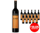 12 x Yalumba Patchwork Barossa Valley Shiraz 2014 750mL 1
