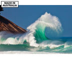 Backwash by Adam Duffy 75x50cm Framed Canvas Wall Art 1