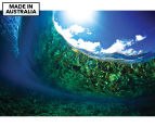 Underwater Globe by Adam Duffy 75x50cm Framed Canvas Wall Art 1