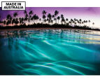 Purple Haze by Adam Duffy 75x50cm Framed Canvas Wall Art 1
