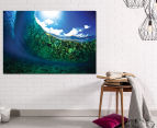 Underwater Globe by Adam Duffy 75x50cm Framed Canvas Wall Art 2