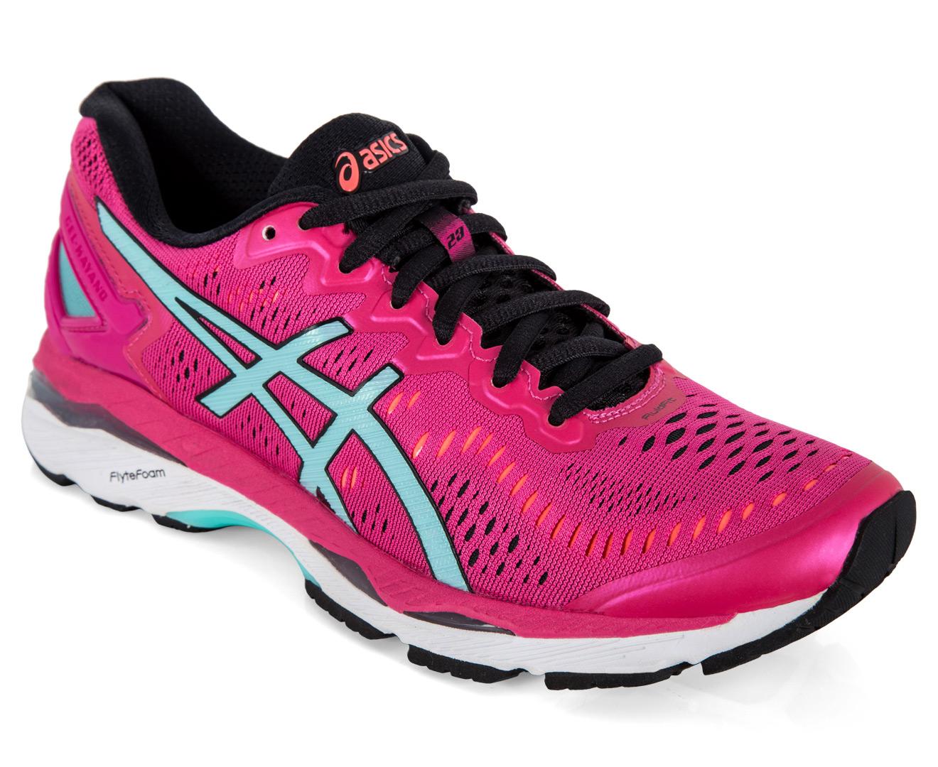 huge discount 79d55 ab5cf ASICS Women's GEL-Kayano 23 Shoe - Sport Pink/Aruba Blue/Flash Coral