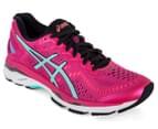 ASICS Women's GEL-Kayano 23 Shoe - Sport Pink/Aruba Blue/Flash Coral 2