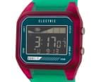 Electric Women's ED01-T PU Digital Watch - Seafoam Pink 3