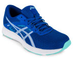 ASICS Women's Fuzor Shoe - Imperial/White/Aruba Blue 2