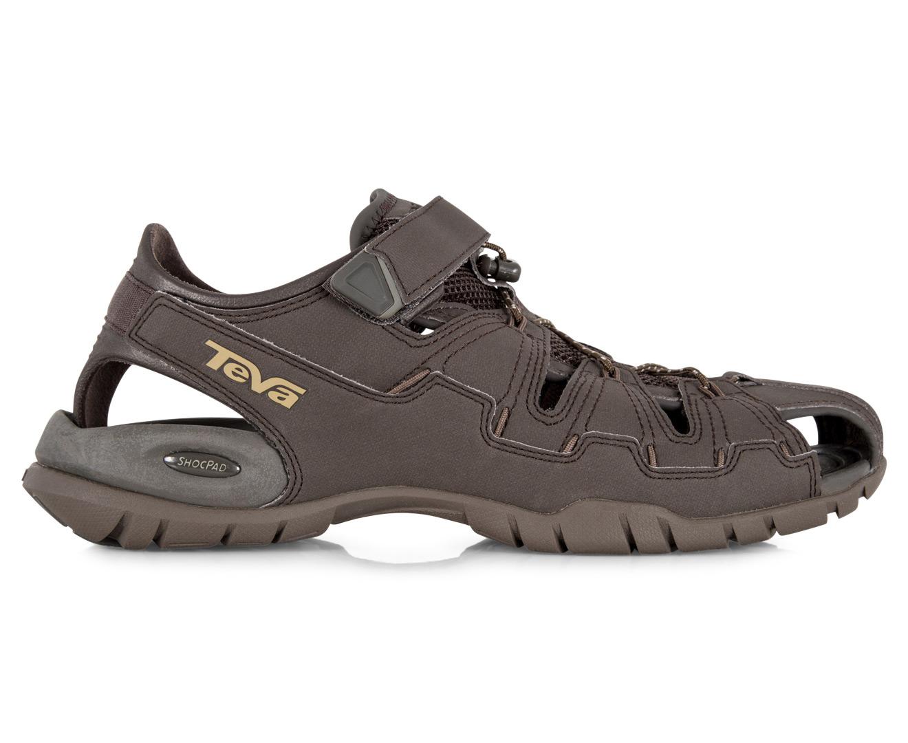 01fcf2e5cae8f Teva Men s Dozer 4 Sandal - Black Olive