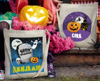 Personalised Kids' Halloween Tote Bag - Beige 6