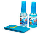 EMTEC Travel Essentials Cleaning Kit - Superman/Wonder Woman 5
