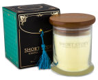 "Short Story ""Leonardo"" Natural Soy Candle 280g - Aromatic Citrus & Wood 1"