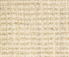 Maple & Elm 270x180cm Natural Fibre Chunky Knit Jute Rug - Bleached 4