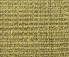 Maple & Elm 270x180cm Natural Fibre Chunky Knit Jute Rug - Green 5