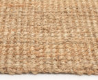 Maple & Elm 270x180cm Natural Fibre Chunky Knit Jute Rug - Natural 4