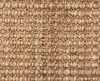 Maple & Elm 270x180cm Natural Fibre Chunky Knit Jute Rug - Natural 5