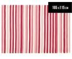 Modernity 165x115cm Super Soft Acrylic Rug - Candy Stripe 1