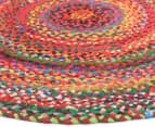 Maple & Elm 120cm Summer Whirl Cotton Rug - Multi 2