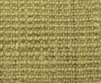 Maple & Elm 400x80cm Natural Fibre Chunky Knit Jute Runner - Green 5