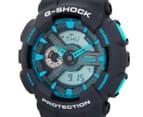 Casio G-Shock Men's 50mm GA110TS-8A2 Duo Watch - Grey/Blue 3
