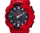 Casio G-Shock Men's 50mm GA100B-4A Duo Watch - Red 3
