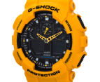 Casio G-Shock Men's 50mm GA100A-9A Duo Watch - Yellow 3