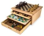 10-in-1 Wooden Board Gamehouse 1